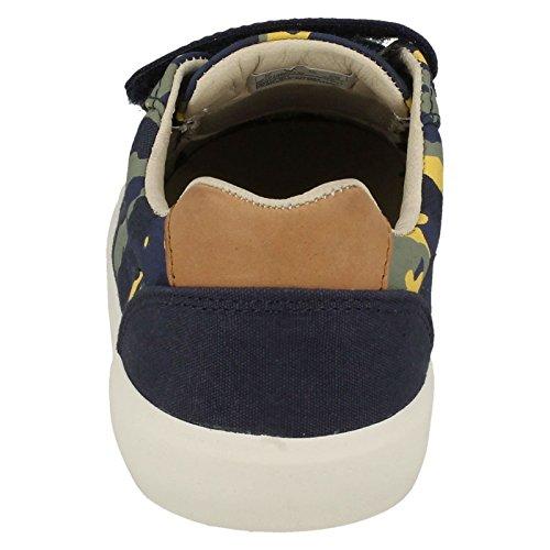 Pour Ville Chaussures Bleu de Lacets à Femme Bleu Clarks wXPpqFCBnx