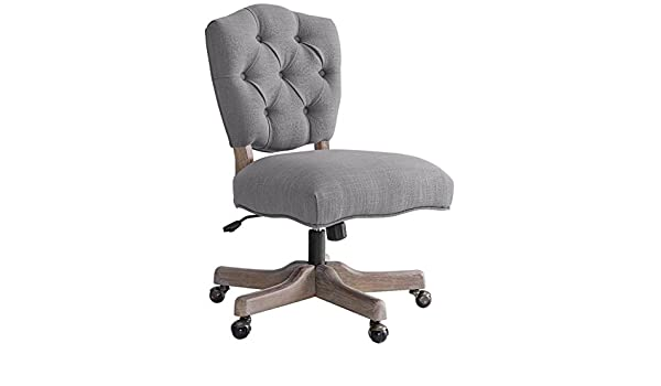 Superb Amazon Com Riverbay Furniture Tufted Swivel Office Chair Forskolin Free Trial Chair Design Images Forskolin Free Trialorg