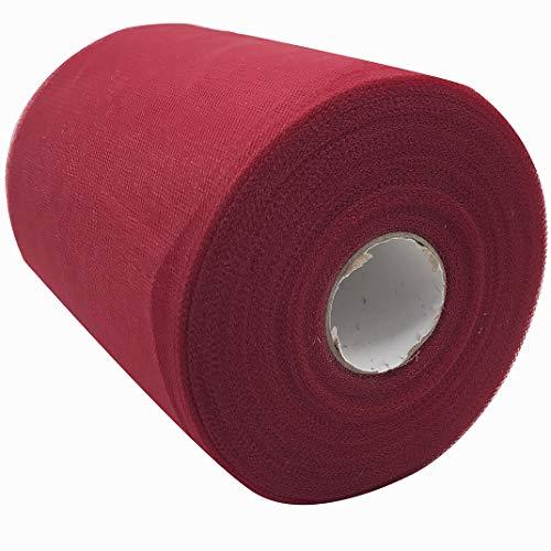 (MXCELL Tulle Rolls Tulle Netting Rolls Tulle Fabric Spool Ribbon 6