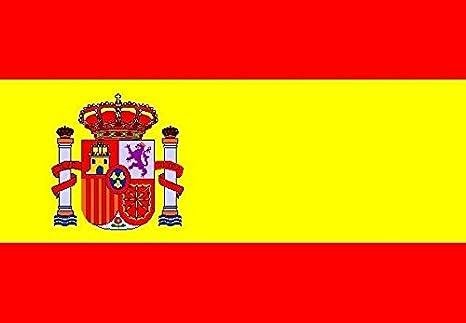 U24 Bandera de España con escudo Boot Bandera Premium Calidad 50 x 75 cm: Amazon.es: Deportes y aire libre