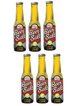 Twang Lemon Lime Flavored 1.4oz Beer Salt Long Neck Bottles 6-pack