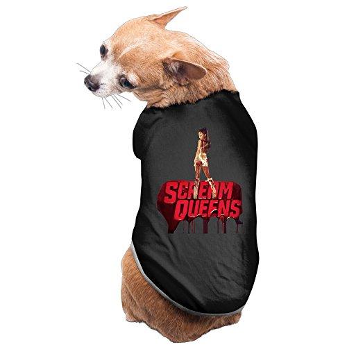 MEGGE Scream Team Queens Lovely Pet Dog Costumes Black M