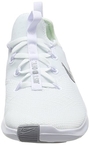 100 White White 8 Women's Free Fitness Silve Nike Trainer White Shoes Metallic FwY4PRfWq