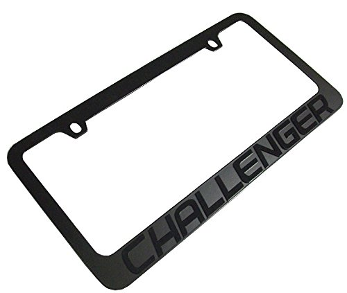 Dodge Challenger Stealth Blackout License Plate Frame
