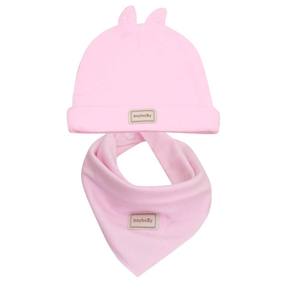 Harpily Simpatico Coniglio Capretto Neonato Cappello Berretto Saliva Asciugamano Triangolo Testa Sciarpa Impostato Costume del Bambino