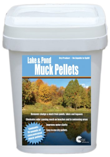 (Outdoor Water Solutions PSP0150 Lake and Pond Muck Pellet)