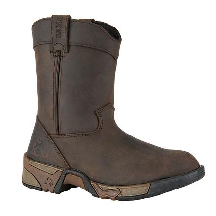 Image of Rocky Unisex FQ0003638 Mid Calf Boot, Brown, 3 M US Little Kid
