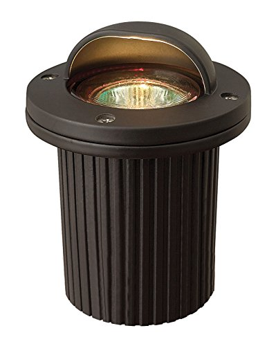 Hinkley Lighting 1595BZ Die Cast Aluminum Shielded MR16 50 Watt Maximum Well Light, Bronze (Shielded Landscape Well Light)