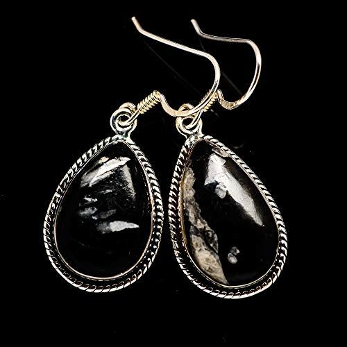 Ana Silver Co Pinolith Jasper Earrings 1 1/2