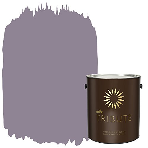 r Semi-Gloss Paint and Primer in One, 1 Gallon, Orchid Smoke (TB-27) (Enchanting Orchid)