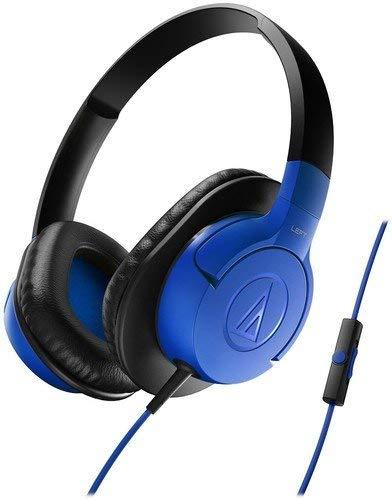 Renewed  Audio Technica ATH AX1ISBK Over Ear Headphones  Black