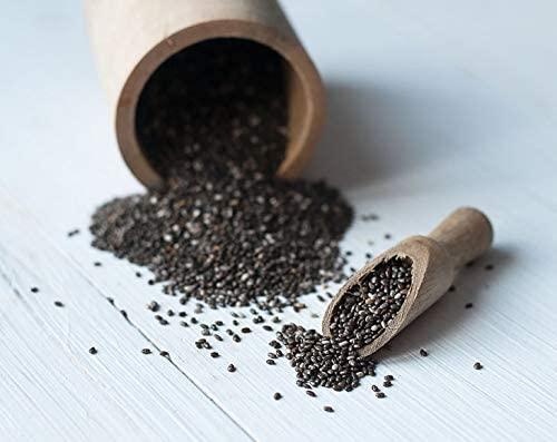 Semillas de Chía orgánica, 2.5 Libras - negro, vegano, kosher, sin ...