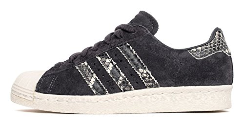Black Superstar Calzado 80s W off Adidas White WqHnIvPvR
