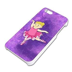 Ballerina Dancing Slim Fit Hard Case Fits Apple iPhone 5 5S