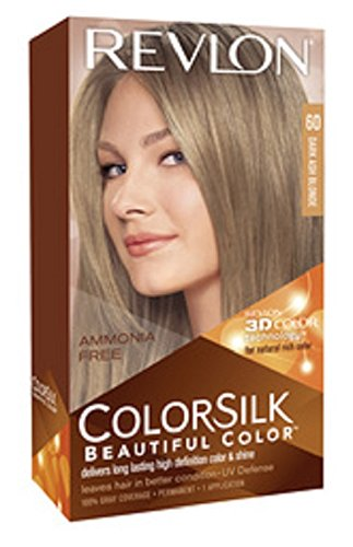 revlon colorsilk ammonia free 60 dark ash blonde - Belle Color Blond Cendr