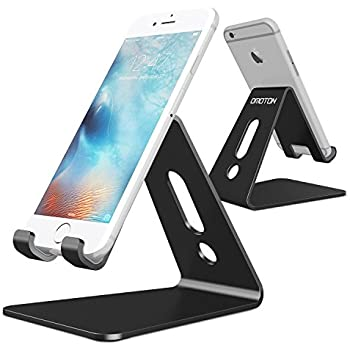 Amazoncom Esonstyle Desktop Cell Phone Stand Portable Aluminum