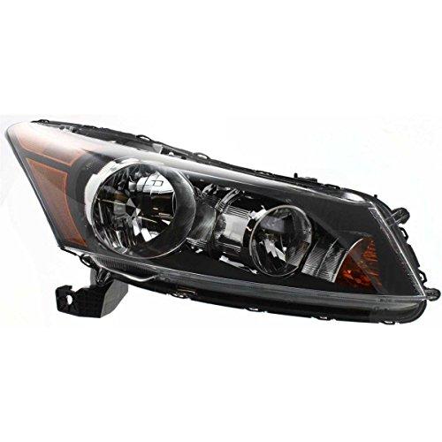 (Elite7 Head Light Head Lamp Headlight Headlamp For Honda Accord 2008-2012 Sedan Models Passengers RH HO2503130 DOT)