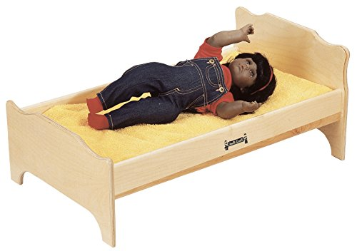 Jonti-Craft 0215JC Doll Bed (Maple Doll Bed)