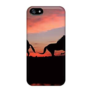 Iphone 5/5s Case Cover Skin : Premium High Quality Horses In The Shade Case