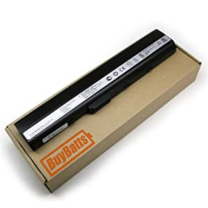 BuyBatts Battery Fits Asus P52, F85, F86, K62, X67, A31-B53, A41-B53, 7G016ES1875, 07G016ER1875, 90-NYX1B2000Y, 07G016000520, 90-N0P1B2000Y, P42F, P42F-XD1B, P52F, P52F-XD1B, X52F, X52F-XF1, X52F-X1, X52F-X2, X52F-X3, X52F-XR5, X52F-XR9, X52F-EX513D, A52F, A52F-X1 Notebook Laptop Portable Computer