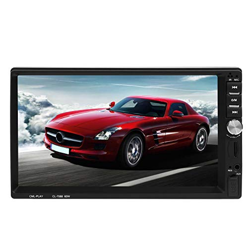 Car Stereo Double Din, Seawang 7088B 7 Inch Screen Car Stereo Car MP5 Player FM Radio Bluetooth with Remote Control (Camera): Amazon.co.uk: Electronics