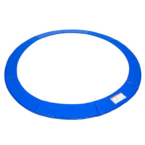Best Choice Products 14ft Trampoline Safety Pad Spring Cover w/ 21mm Thick Foam Padding - Blue