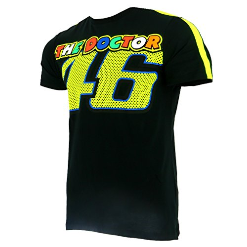 db69685f Valentino Rossi VR46 Moto GP The Doctor Black T-shirt Official - Import It  All