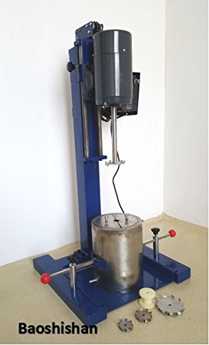 JFS-1100 High speed frequency conversion dispersing machine lab stirring and dispersing integrated machine