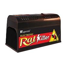 Aspectek Rat Zapper, Electronic Rat Trap with AC Adapter, Battery Option Available