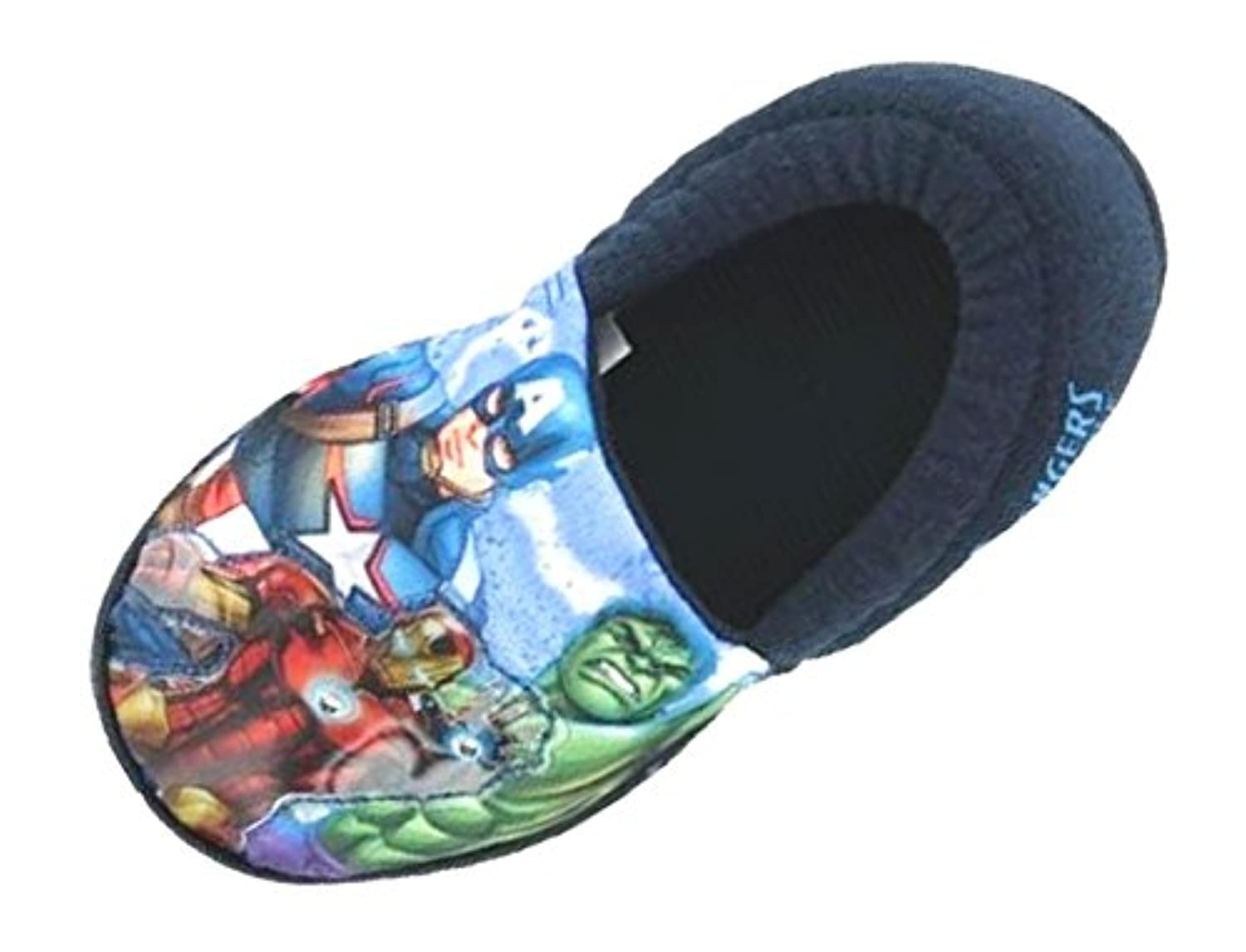 Kids Boys Marvel Avengers Light Up Slippers Slip On Size UK 10-3