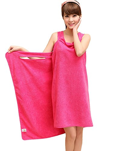a8b9832153 Bath Towels, Rcool Soft Wearable Bathroom Bath Towel Bathrobe Wrap Sauna  Spa Shower Swimming Beach Towel Magic Water Absorbent Microfiber Washcloths  (Hot ...