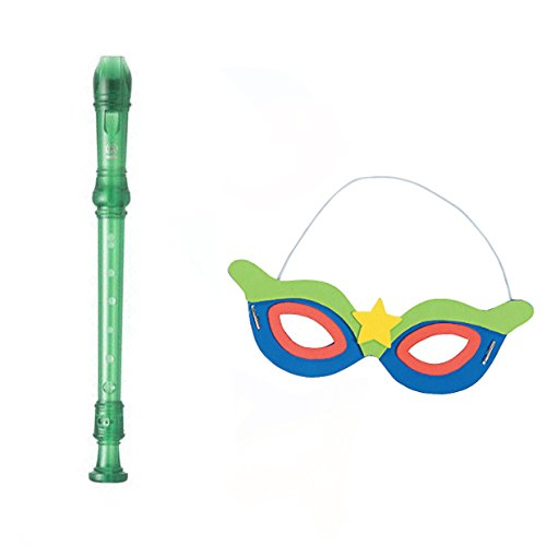VBS Superhero Theme -Music Craft pack W/Green Recorder & Super Hero Mask Craft]()