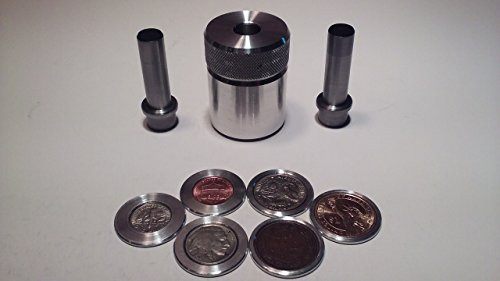(Half Dollar Coin Ring Center Punch Kit. Comes With 1/2