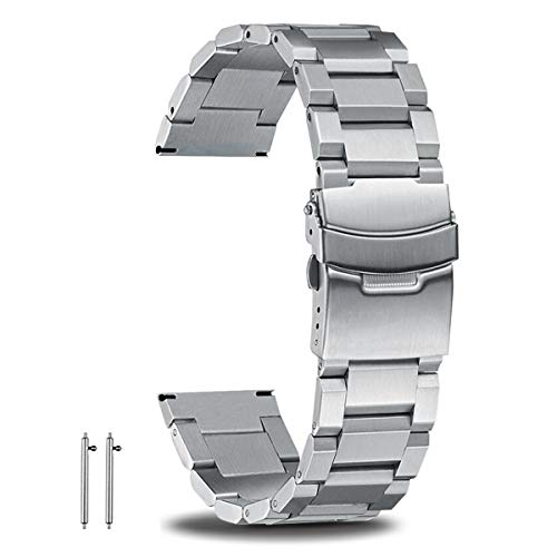 22mm Watch Band Quick Release Stainless Steel 304 Premium Watch Bands for...