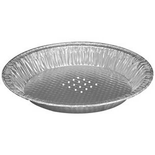 Handi Foil of America 10 inch Perforated Large Pie Pan -- 200 per case.