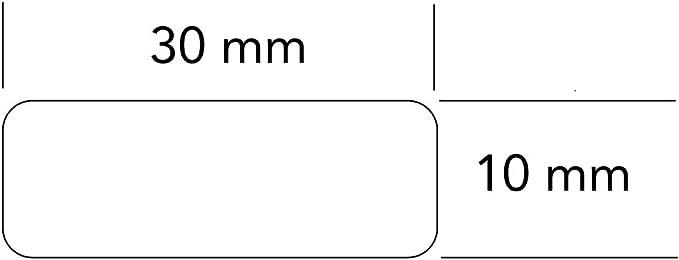 Drone adressgravur marking plate anodised aluminium very small