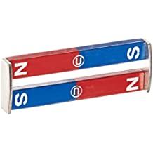"Delta Education N/S Painted Bar Magnet, 3"" Length (Pack of 2)"