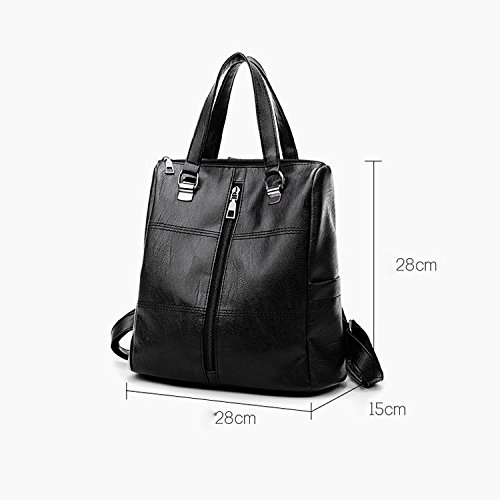 Handbags Wild Winered Capacity Shoulder Bags Bag Travel High Simple Lady Backpack Casual Fashion PwxqfwaFv