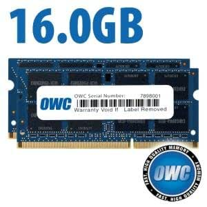 16.0GB (8GBx2) PC3-12800 DDR3L 1600MHz SO-DIMM 204 Pin CL11 SO-DIMM Memory Upgrade Kit