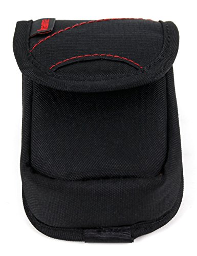 DURAGADGET Lightweight Black and Red Protective Case for BlitzWolf BW-ES2-R by DURAGADGET