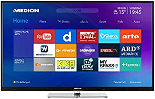 MEDION Serie X (UHD) Televisor (Smart TV, 4K Ultra HD, Dolby Vision HDR, sintonizador Triple, DVB-T2 HD, Netflix App, Prime Video, PVR, Bluetooth): Amazon.es: Electrónica