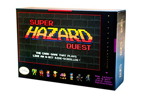 Super Hazard Quest - The Board-Game Played Like a Retro Pixel Video Game!