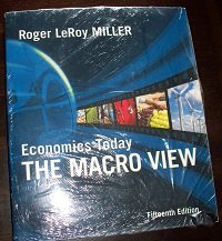 Economics Today: The Macro View plus MyEconLab in CourseCompass Student Access Kit (15th Edition)