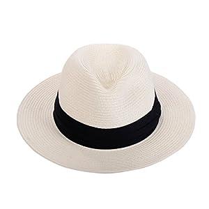 Panama Straw Hat Summer Beach Sun For Fashion Women Hat