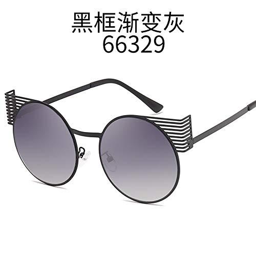 Unisex Metallrahmen Mode Cat Eye Sonnenbrillen UV 400 Brillen