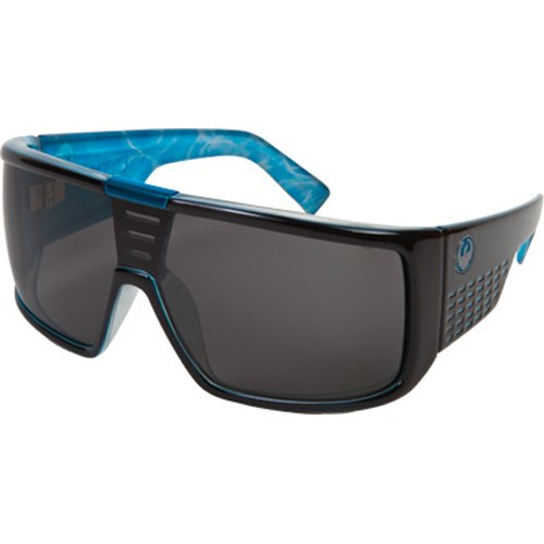 Dragon Alliance Domo Men's Large Fit Casual Sunglasses - Palm Springs Pool/Grey / One Size Fits - Dragon Domos