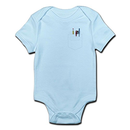 CafePress - Pocket Protector - Cute Infant Bodysuit Baby - With Protector Pocket Nerd