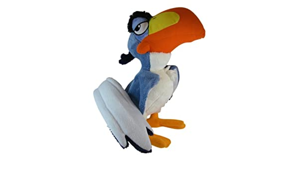 Amazon.com: Disney The Lion King - Zazu the Hornbill Bird - 11inch Plush: Toys & Games