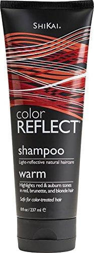 Shikai Color Reflect Warm Shampoo 8 Ounces (Pack of 2)