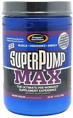 Gaspari Nutrition SuperPump MAX - Grape Cooler - 40 Servings